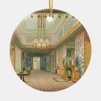 The Corridor or Long Gallery in its Final Phase, f Christmas Tree Ornament