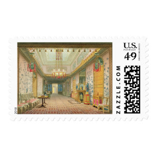 The Corridor or Long Gallery in its Final Phase, f Postage Stamp