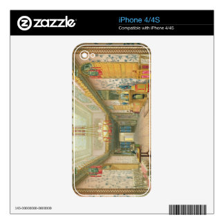The Corridor or Long Gallery in its Final Phase, f Skin For The iPhone 4