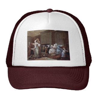 The Corset,  By Hogarth William (Best Quality) Trucker Hat