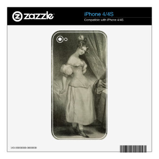 The Corset, engraved by Alfred Leon Lemercier (fl. Skin For The iPhone 4