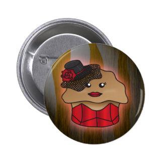 The Corset Muffin Pinback Button