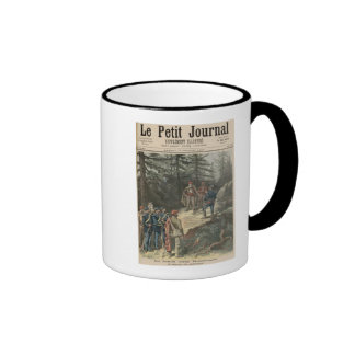 The Corsican Bandit Jacques Bellacoscia Ringer Coffee Mug