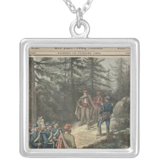 The Corsican Bandit Jacques Bellacoscia Silver Plated Necklace