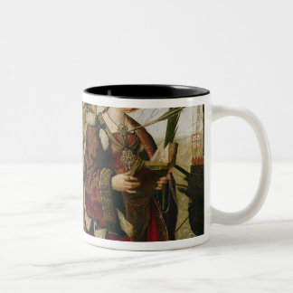 The Cortege of the Relics of St. Auta Two-Tone Coffee Mug