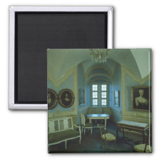The Cosel Room, Burg Stolpen, c.1100 2 Inch Square Magnet