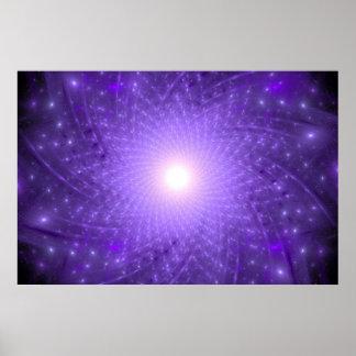 The Cosmic Lotus Poster