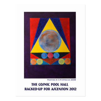 The Cosmic Pool Hall Racked-Up for Ascension 2012 Post Card