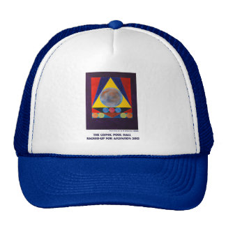 The Cosmic Pool Hall Racked-Up for Ascension 2012 Trucker Hat