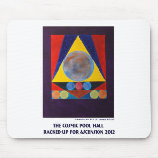 The Cosmic Pool Hall Racked-Up for Ascension 2012T Mouse Pad