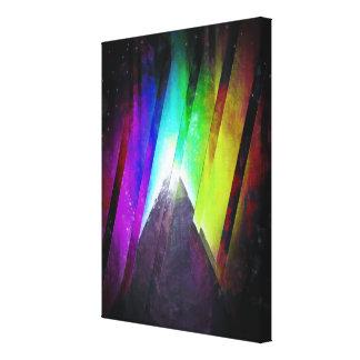 The Cosmic Pyramid Canvas Print