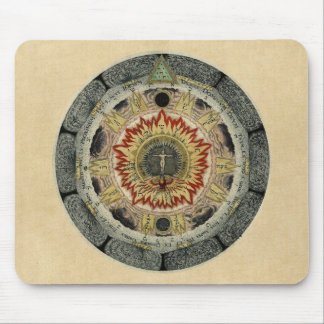 The Cosmic Rose Mouse Pad