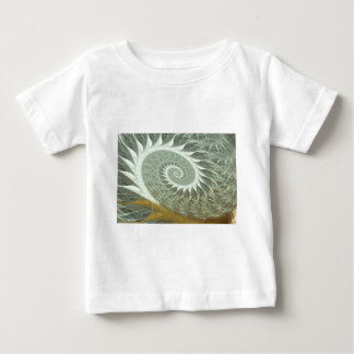 The Cosmic Spiral - Sacred Geometry Golden Spiral Baby T-Shirt