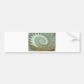 The Cosmic Spiral - Sacred Geometry Golden Spiral Bumper Sticker