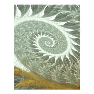 The Cosmic Spiral - Sacred Geometry Golden Spiral Letterhead