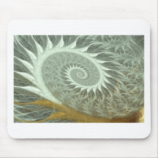 The Cosmic Spiral - Sacred Geometry Golden Spiral Mouse Pad
