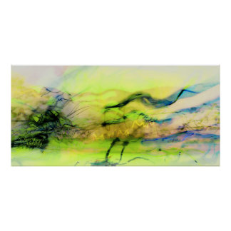 The cosmos lights abstract print