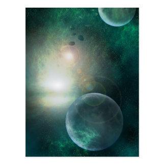 The Cosmos postcard