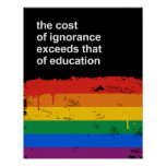 The cost of ignorance exceeds that of education print