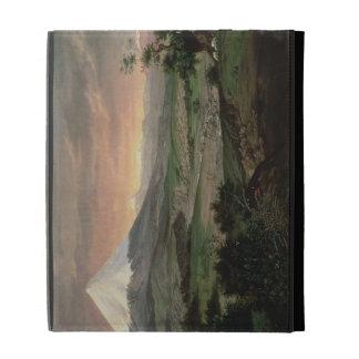 The Cotopaxi, Ecuador, 1874 iPad Case