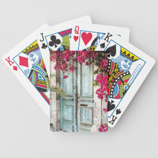 The Cottage Door Bicycle Playing Cards