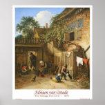 The Cottage Dooryard Posters