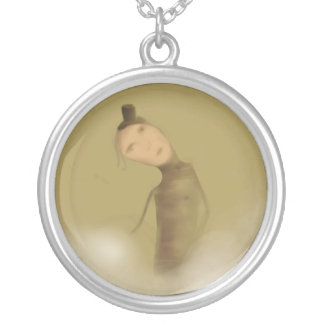 The Cotton Maker Silver Plated Necklace