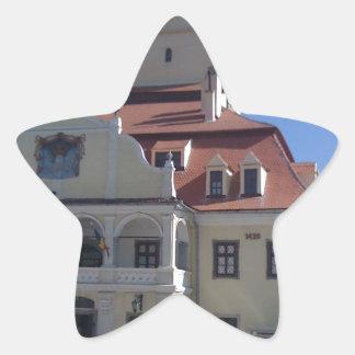 The Council House, Brasov, Romania Star Sticker