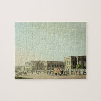 The Council House, Calcutta, plate 29 from 'Orient Jigsaw Puzzle