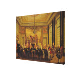 The Council of Regency for the Minority Gallery Wrapped Canvas