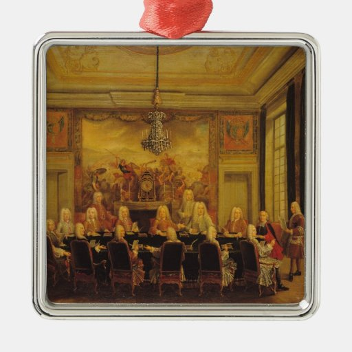 The Council of Regency for the Minority Christmas Ornament