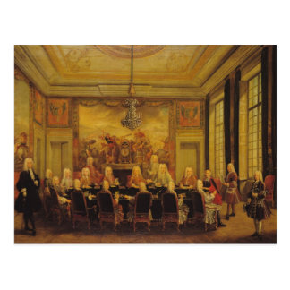 The Council of Regency for the Minority Postcard
