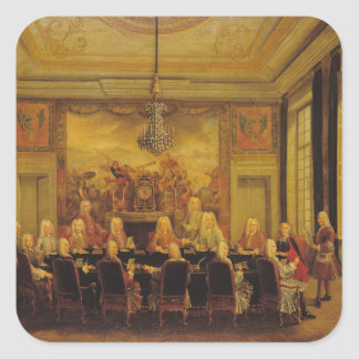 The Council of Regency for the Minority Square Sticker