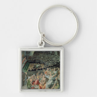 The Council of Trent, 1588-89 (fresco) Keychain