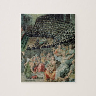 The Council of Trent, 1588-89 (fresco) Jigsaw Puzzle