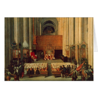 The Council of Trent, 4th December 1563 Card
