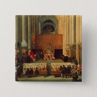 The Council of Trent, 4th December 1563 Pinback Button