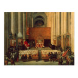 The Council of Trent, 4th December 1563 Postcard