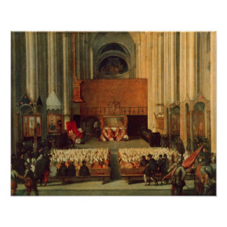 The Council of Trent, 4th December 1563 Poster