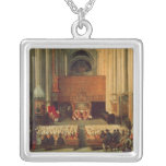 The Council of Trent, 4th December 1563 Square Pendant Necklace