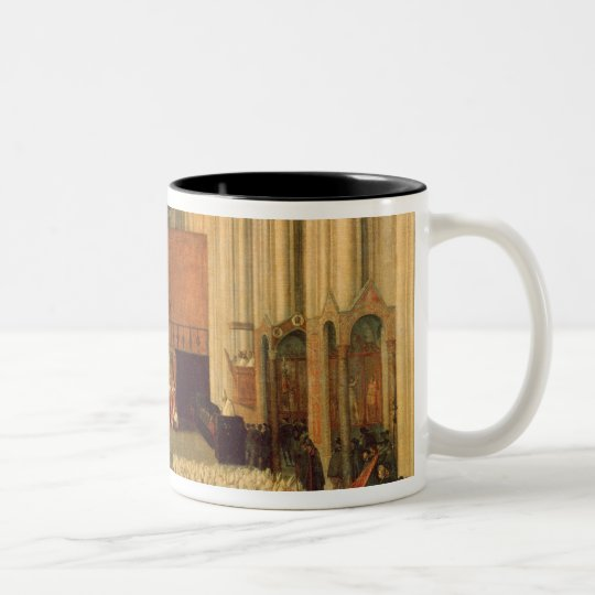 The Council of Trent, 4th December 1563 Two-Tone Coffee Mug