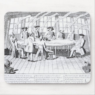 The Council of War in 1756 Mouse Pad