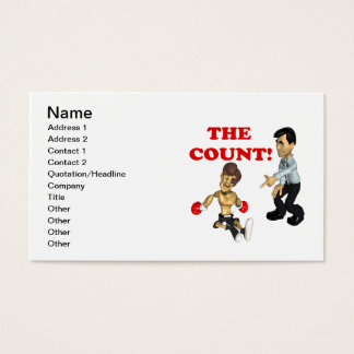 The Count Business Card