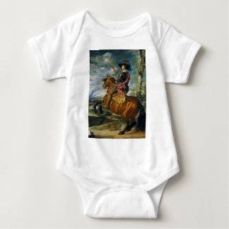 The Count Duke Of Olivares by Diego Velazquez 1634 Baby Bodysuit