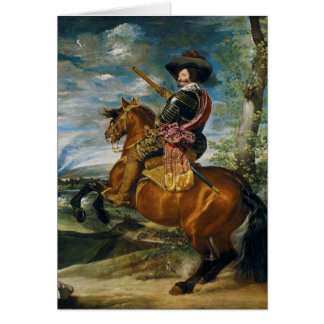 The Count Duke Of Olivares by Diego Velazquez 1634 Card
