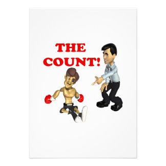 The Count Personalized Invite