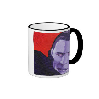 """the Count"", Ringer Coffee Mug"
