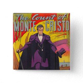 The Count of Monty Cristo Comic button
