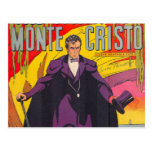The Count of Monty Cristo Comic Post Card