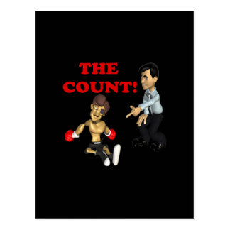 The Count Postcard